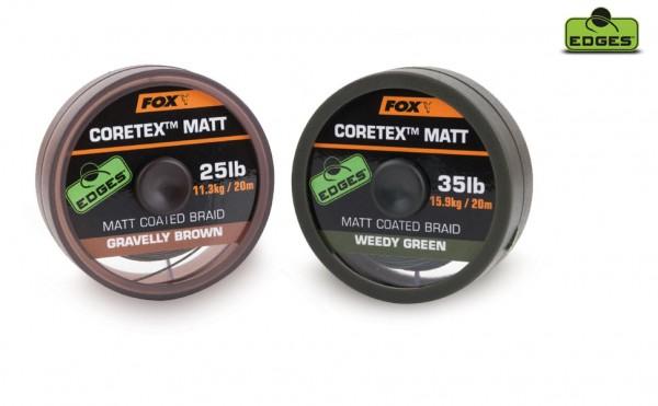 FOX Edges Coretex Matt Gravelly Brown 20m