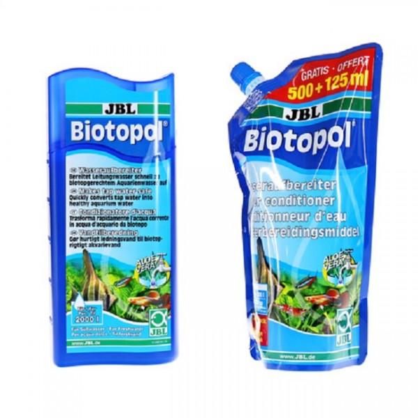 JBL Biotopol Nachfüllpack 625ml - Wasseraufbereiter für Süßwasser-Aquarien