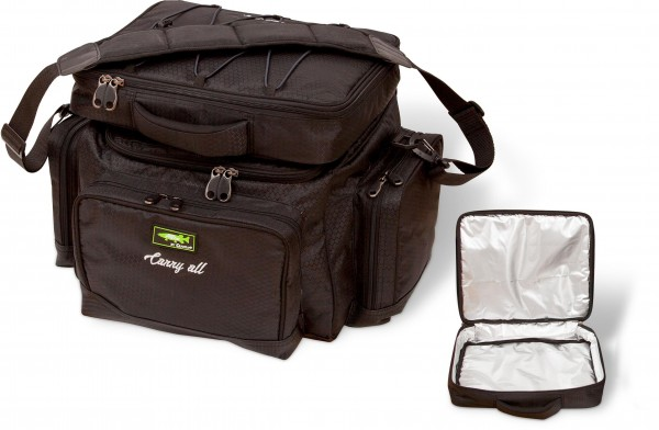 Mr. Pike Carryall + Freezer Bag schwarz 45cm 35cm 40cm