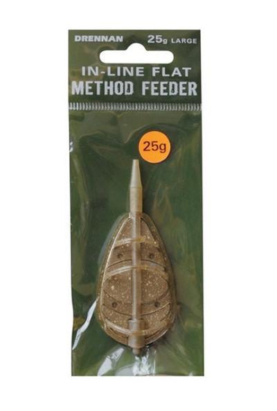 Drennan In-Line Flat Feeder Large 25g