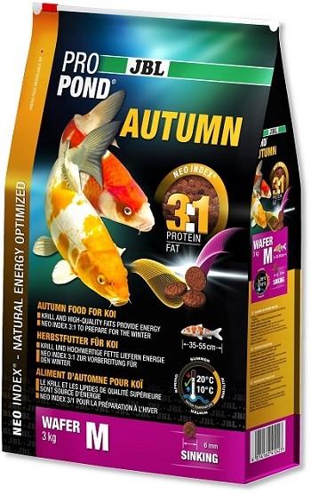 JBL ProPond Autumn M - Herbstfutter für mittlere Koi