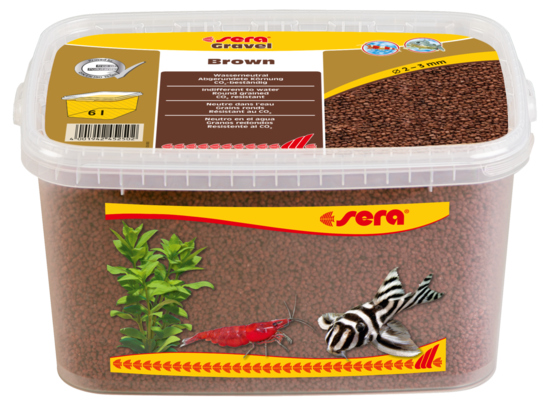 sera Gravel Brown 2-3 mm
