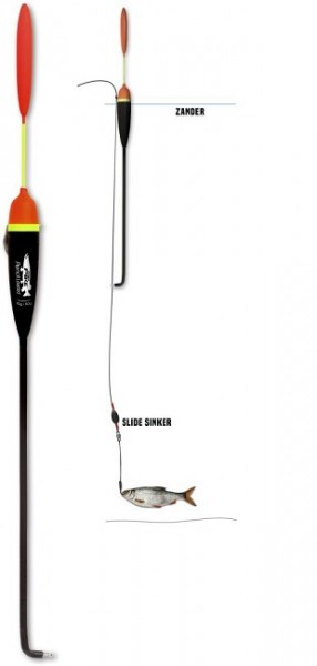 Quantum Mr.Pike Zander 360mm schwarz