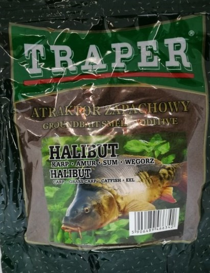 Traper Smell Additive Halibut 250g
