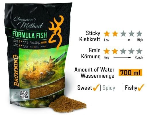 Browning Champion's Formula Fish Natur /Skopex Karamel 1kg