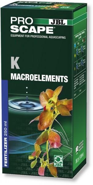 JBL PROSCAPE K + MACROELEMENTS - Kalium -Pflanzendünger für Aquascaping