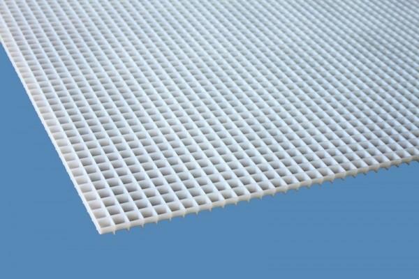 Lichtrasterplatte weiß 15 x15 x13mm