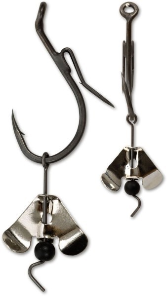 Black Cat Buzzer Hook mit Spinnerblatt 7/0