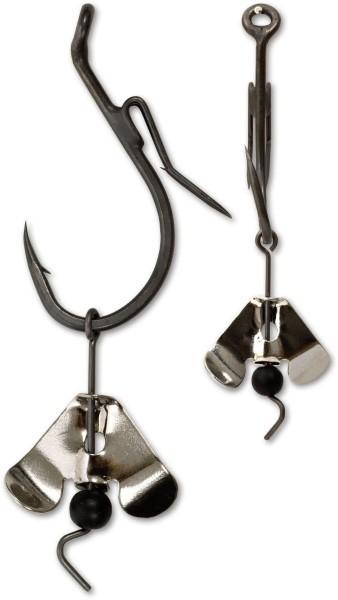 Black Cat Buzzer Hook mit Spinnerblatt 5/0