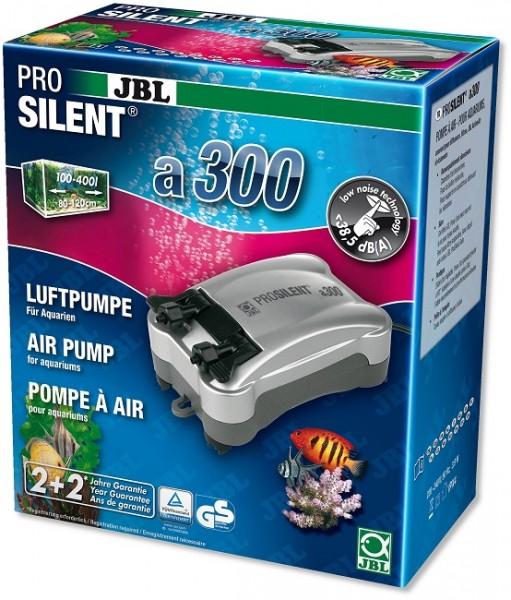 JBL ProSilent a300 - Luftpumpe für Süß- und Meerwasser-Aquarien von 100 - 400 l